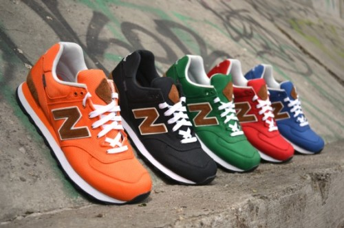 New Balance M574 Backpack Collection