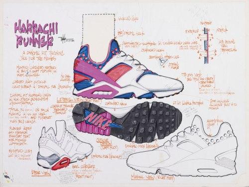 Tinker's Huarache Design Sketch