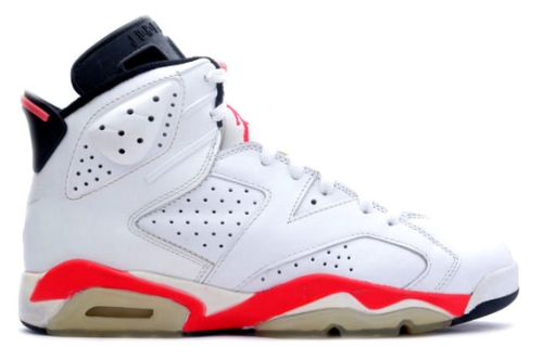 Air Jordan VI - White Infrared